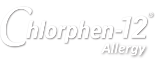 Chlorphen-12 Allergy Logo, made In The USA